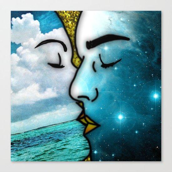 Lover's Kiss Canvas Print