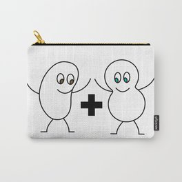 A Bean and a Peanut Carry-All Pouch