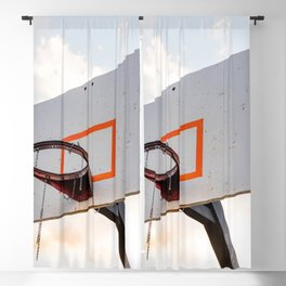 basketball hoop 4 Blackout Curtain
