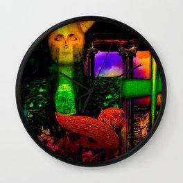 The Guardian of Underworld (aka Pallas Athene) Wall Clock