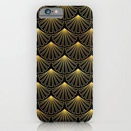 Singapore Art Deco Motif Pattern iPhone Case