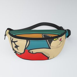Best cat dad ever Fanny Pack