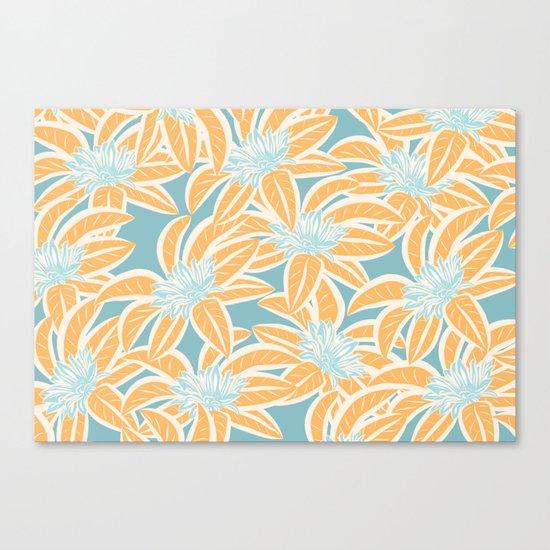 Sunny Tropics 3 Canvas Print