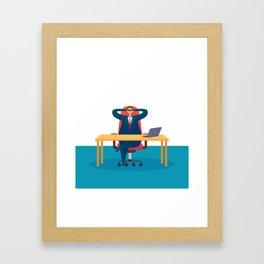 Big Boss - National Boss Day Framed Art Print