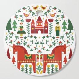 Scandinavian Inspired Fairytale Cutting Board