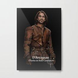 D'Artagnan Metal Print