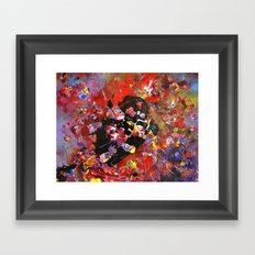 Birth of a Book Framed Art Print