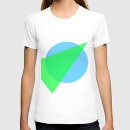Compass: Blue and Green T-shirt
