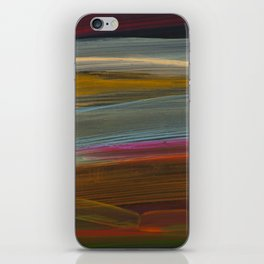 paint stripes two iPhone Skin