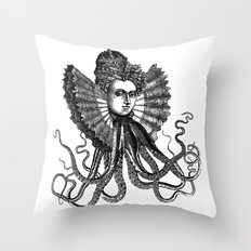 Killa' Queen Throw Pillow