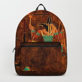Ancient Egyptian Gods Backpack