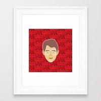 ferris bueller Framed Art Prints featuring Ferris Bueller by Kuki
