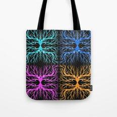 Ghostly Vines Tote Bag