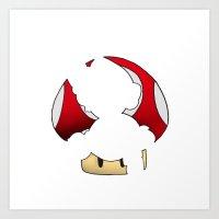 super mario Art Prints featuring Super Mario by SEANLAR94