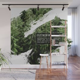 Slytherin Nature Wall Mural