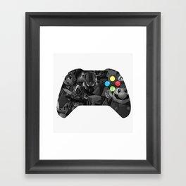 Video Game Framed Art Print