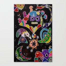 A whimsical night Canvas Print