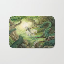 Saint George and the Dragon Bath Mat