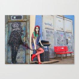 Berlin Girl Canvas Print
