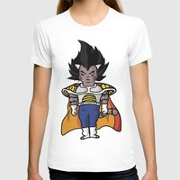 vegeta T-shirts featuring Cat Vegeta by Ricardo Melara