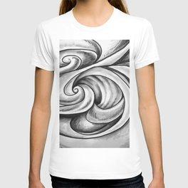 Swirl (Gray) T-shirt