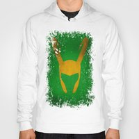 loki Hoodies featuring Loki by Some_Designs