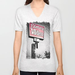 Elmo's Video Unisex V-Neck
