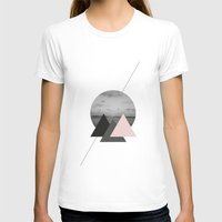 triangles T-shirts featuring Triangles by Marg