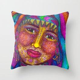 Wisdom Keeper Color #13 (Empathy) Throw Pillow