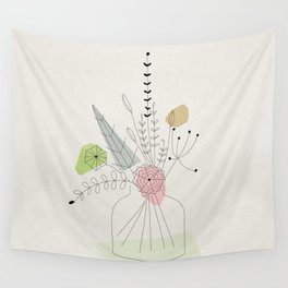 Judy's Bouquet Wall Tapestry