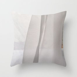 curtains for you Throw Pillow