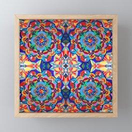 Colorful Mandalas Framed Mini Art Print