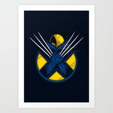 Weapon X Art Print