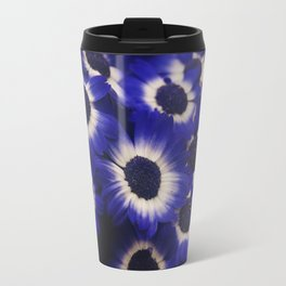 Blue Cineraria Travel Mug
