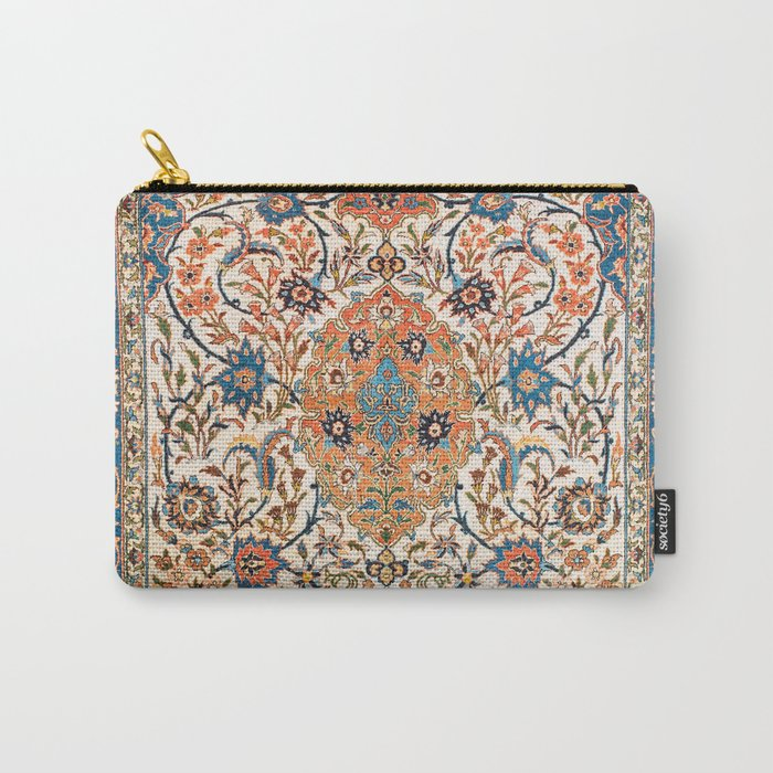 Isfahan Antique Central Persian Carpet Print Tasche