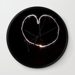love/light Wall Clock