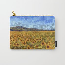 Vincent Van Gogh Sunflowers Carry-All Pouch