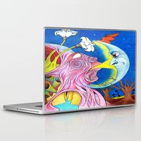 camping Laptop & iPad Skins featuring Camping by Tino Pena