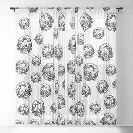 LOVELY GIFTS FOR THE COCKAPOO DOG LOVER FROM MONOFACES FOR YOU IN 2021 Sheer Curtain