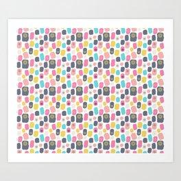 Scandi Nr.2 - Pebbles Art Print