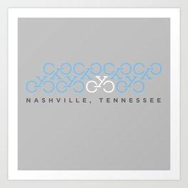 CYC Tennessee Shirt Art Print