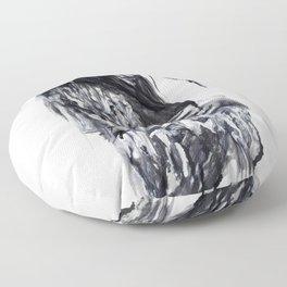 Empty soul Floor Pillow