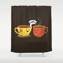 I Love Coffee Too Shower Curtain