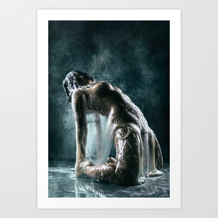 Alpha Art Print