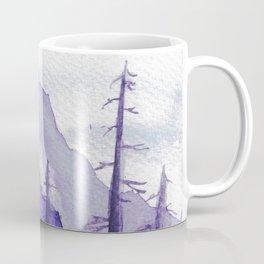 Tonal Mountain Study 2 Purple Coffee Mug