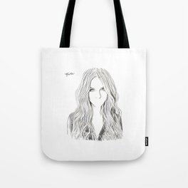 """""""Not About Her"""" Tote Bag"""
