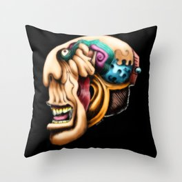 Freaky Throw Pillow