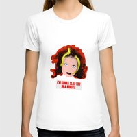 spice girls T-shirts featuring Spice World - Geri Ginger Spice by Binge Designs Homeware