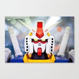 Portrait Gundam Canvas Print