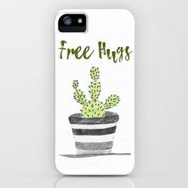 Hugs Please? iPhone Case